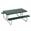 Lifetime 6-Foot Classic Folding Picnic Table - Hunter Green
