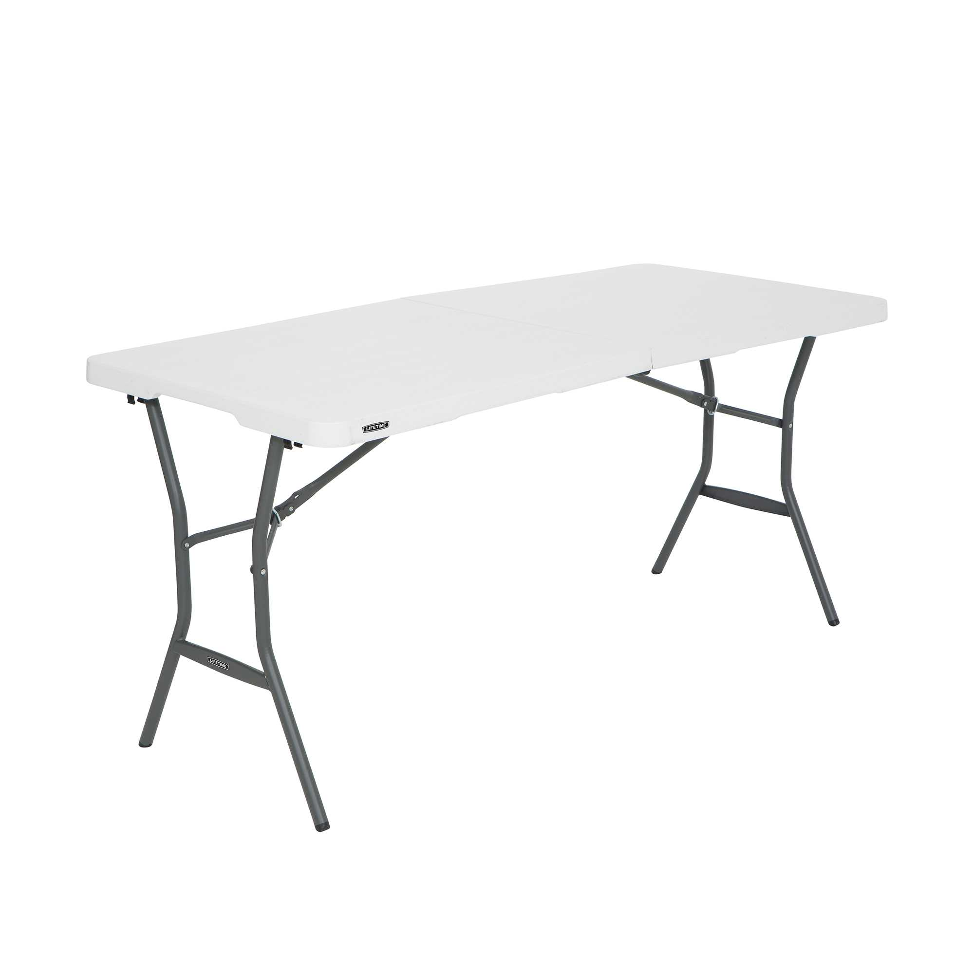 Lifetime 5-Foot Fold-In-Half Table - 14 Pk (Light Commercial)