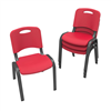 Lifetime Childrens Stacking Chair (Commercial) - Red