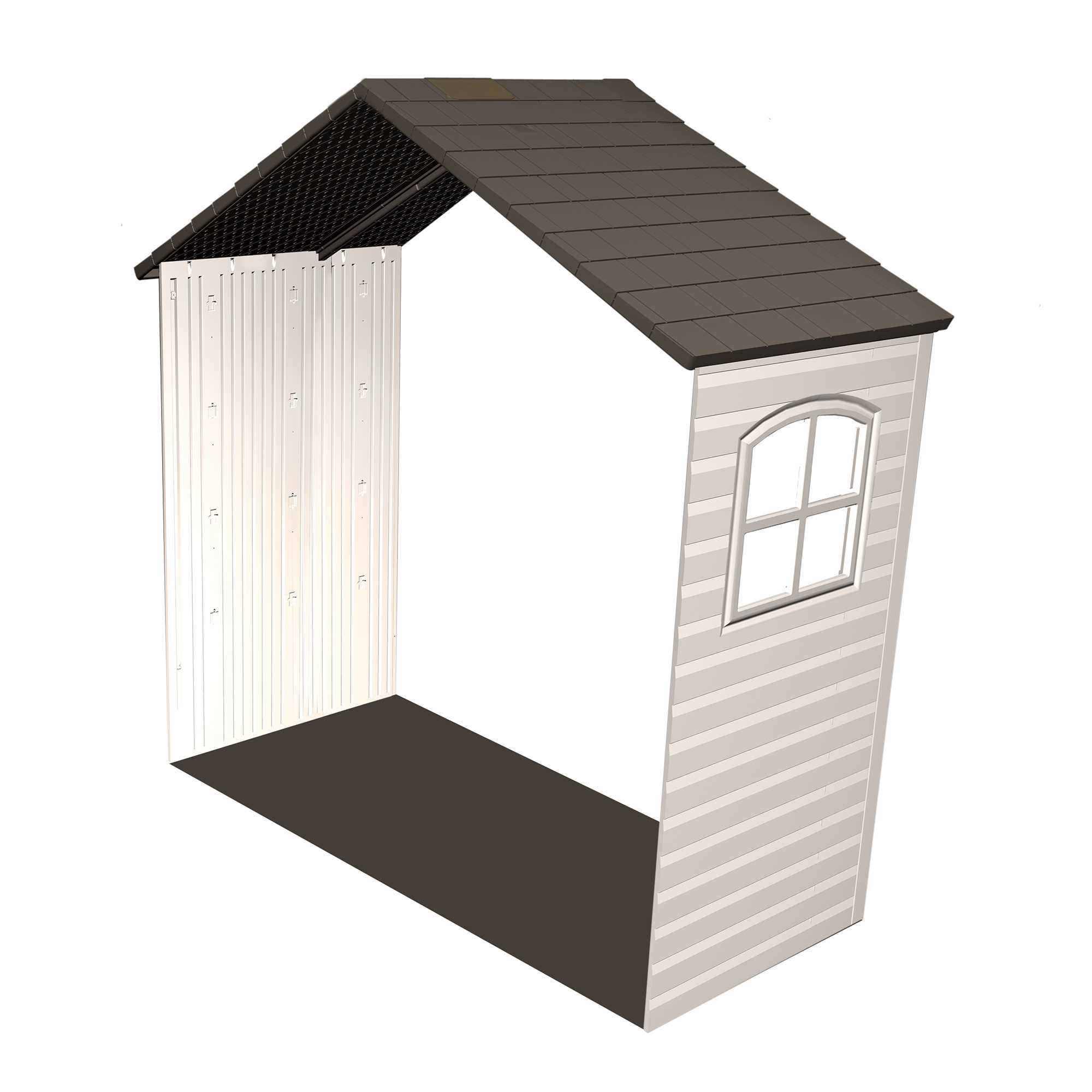 30 in. Shed Extension Kit for 8 ft. Sheds