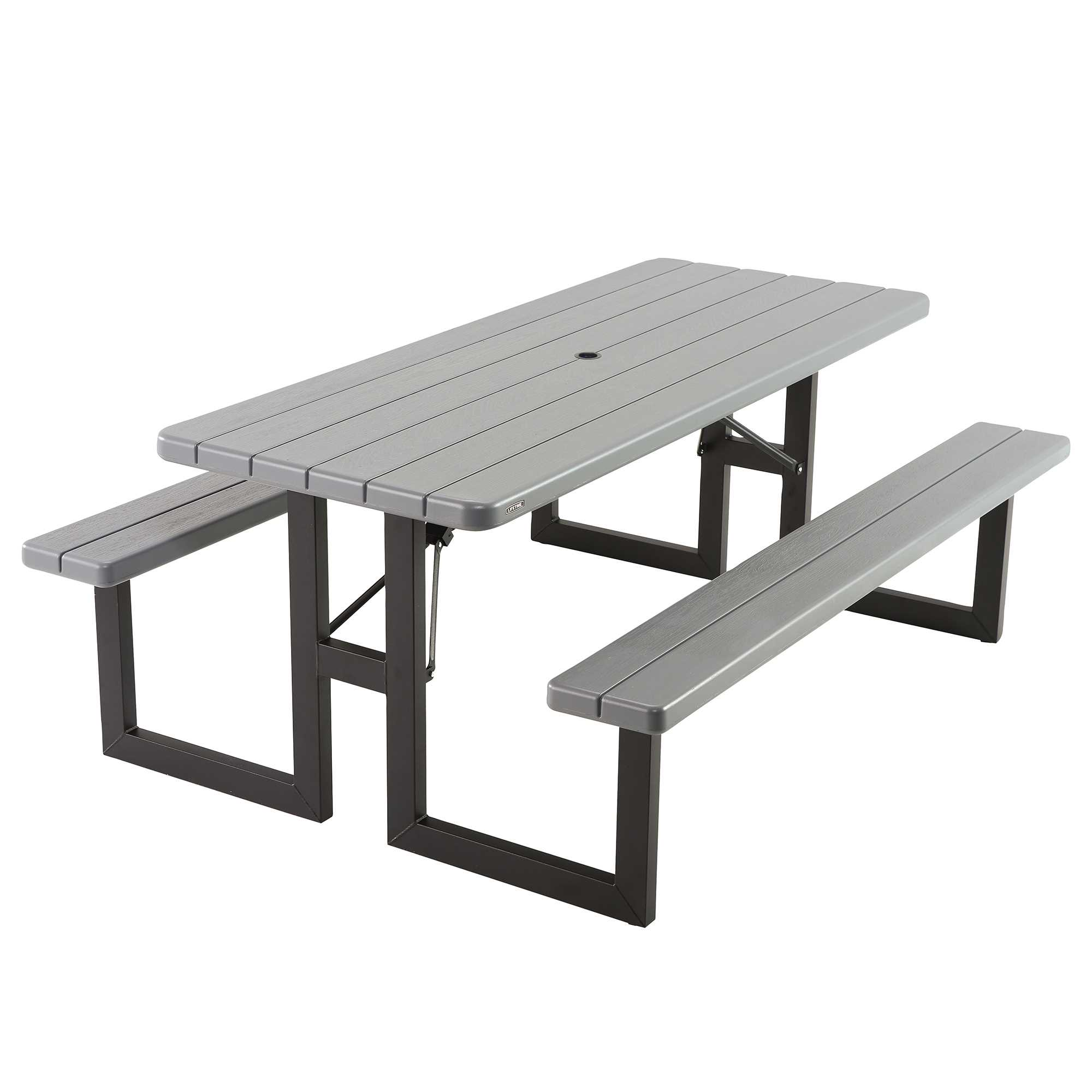 Lifetime 6-Foot Craftsman Folding Picnic Table