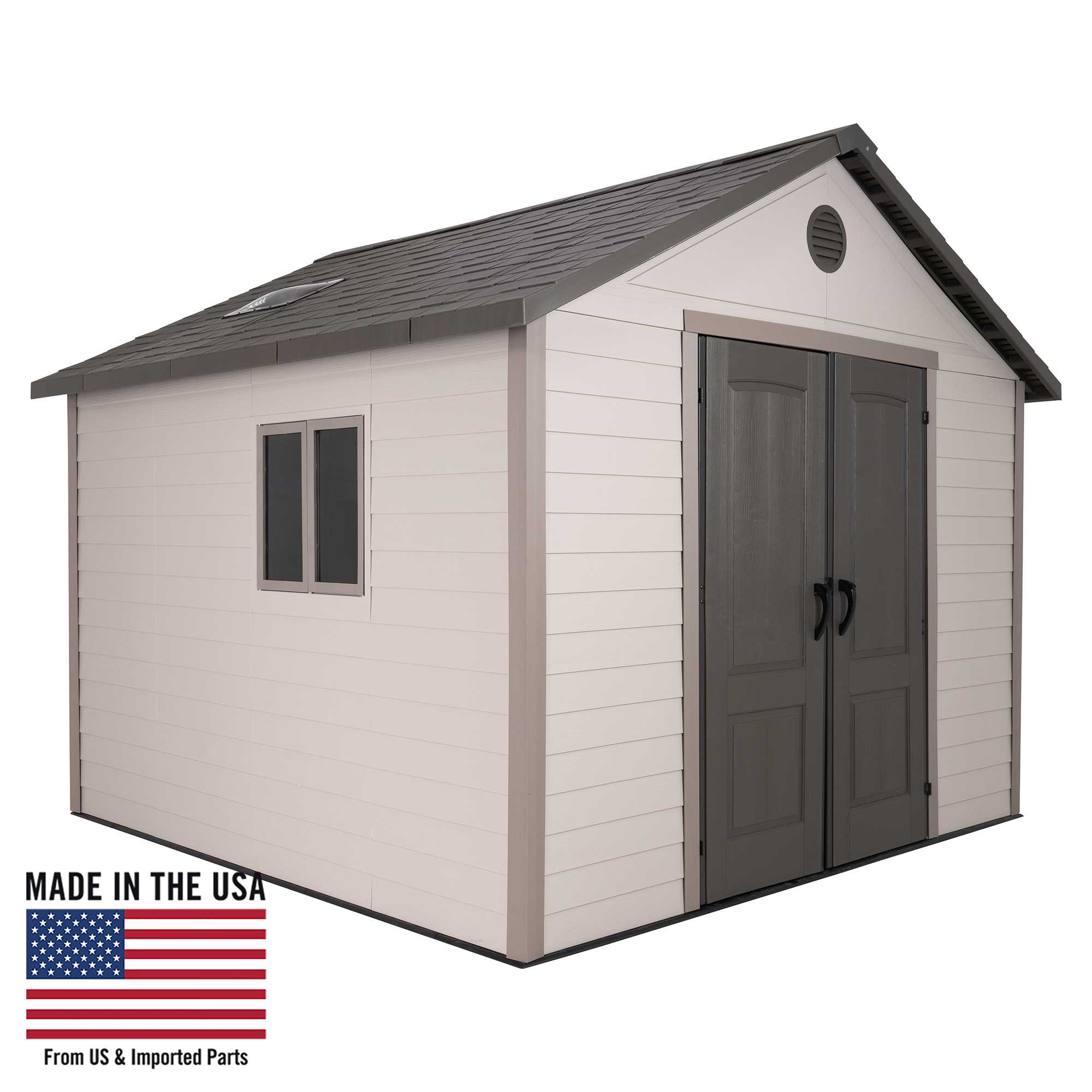 Lifetime 11 Ft. x 11 Ft. Outdoor Storage Shed
