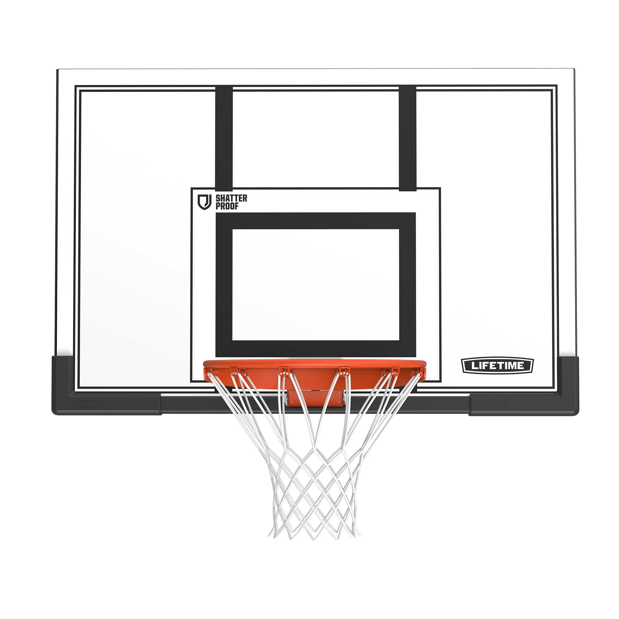 Lifetime Basketball Backboard and Rim Combo (50-Inch Polycarbonate)