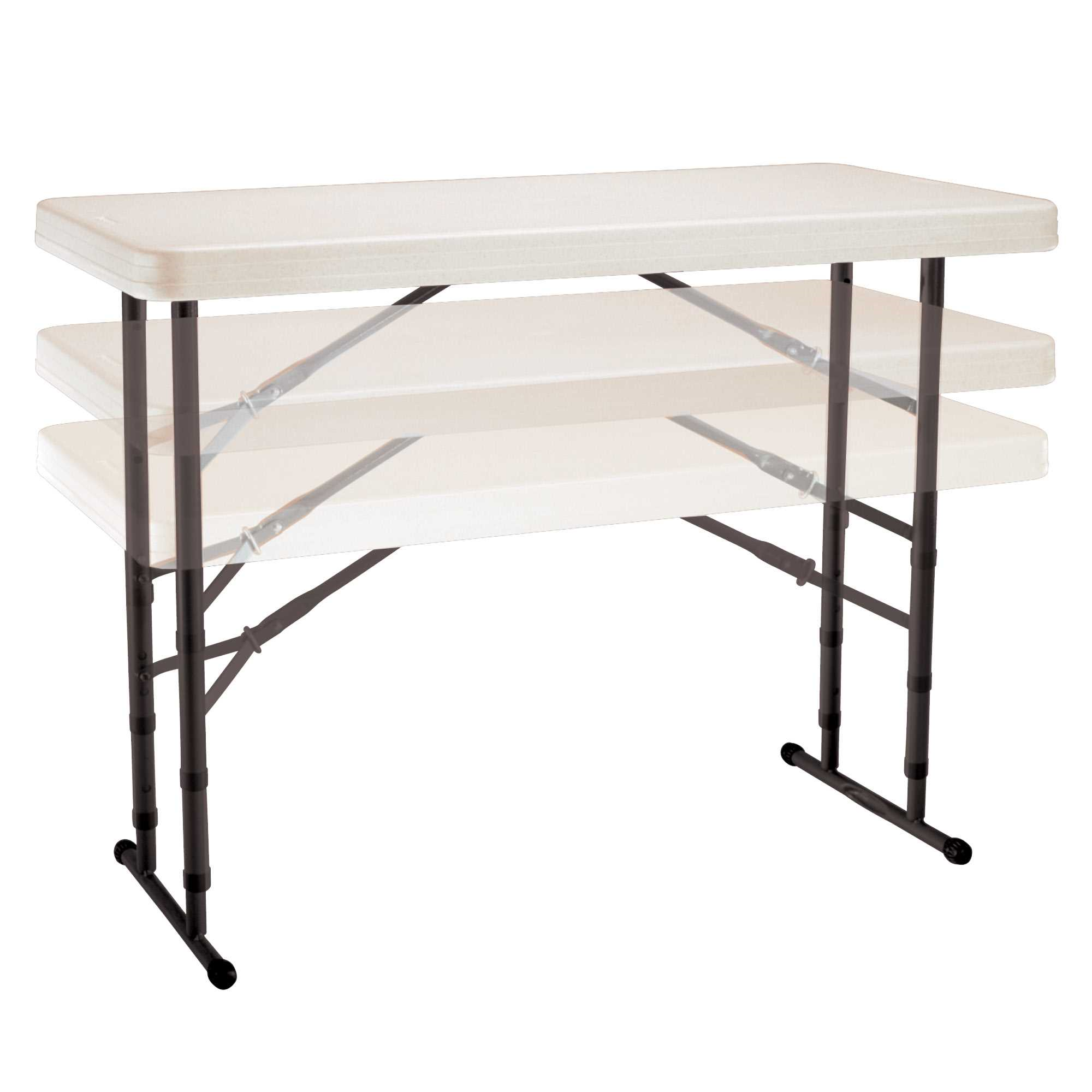 Lifetime 4-Foot Adjustable Height Table (Commercial)