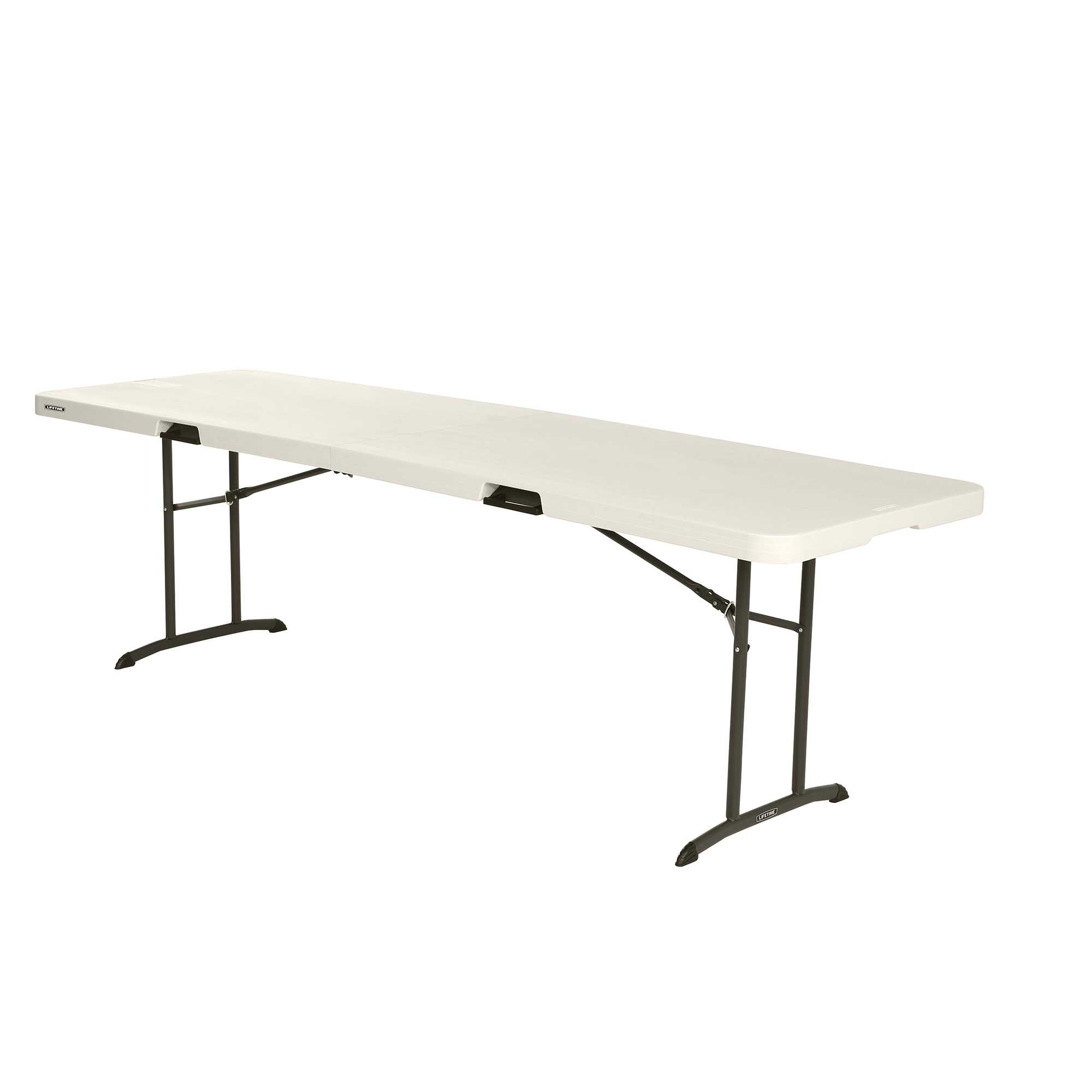 Lifetime 8-Foot Fold-In-Half Table (Commercial)