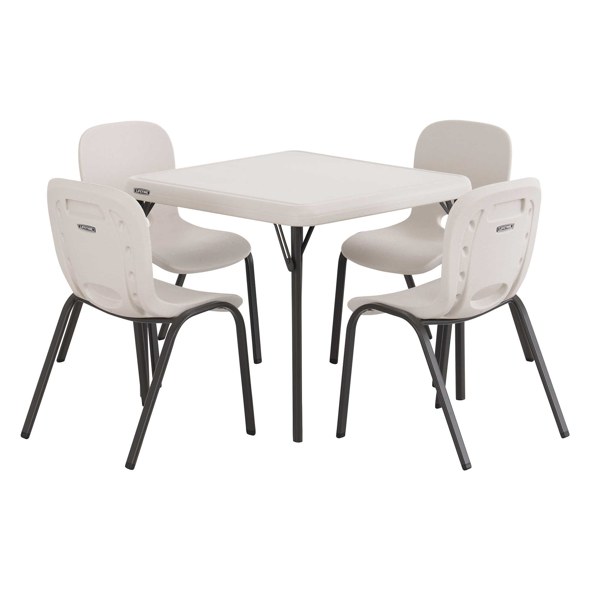 Lifetime Childrens Table and (4) Chairs Combo (Light Commercial)