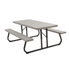 Lifetime 6-Foot Classic Folding Picnic Table - 10 Pk