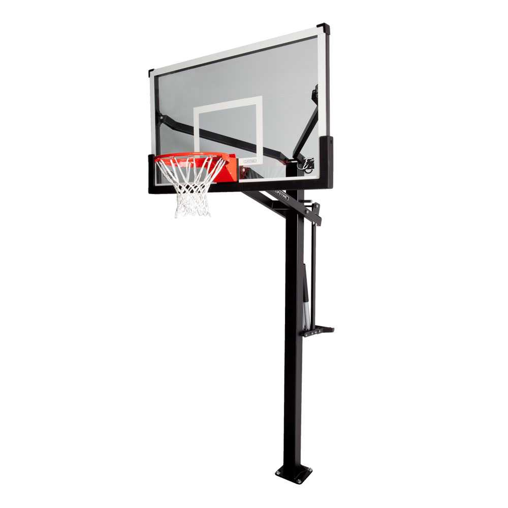 Lifetime Mammoth In-Ground Basketball Hoop (60-Inch Tempered Glass)