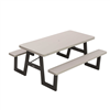 Lifetime 6-Foot W-Frame Folding Picnic Table