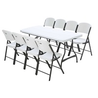 table u0026 chair sets - Plastic Folding Tables