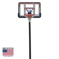 In-ground Basketball Hoop - 44 in. Acrylic Fusion Quick Adjust System