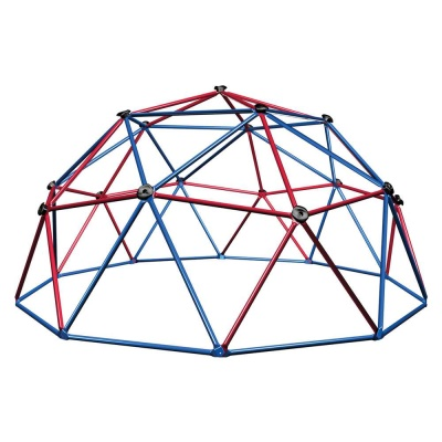 Kids Metal Dome Climber (Red and Blue), image 1