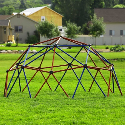 Kids Metal Dome Climber (Red and Blue), image 2