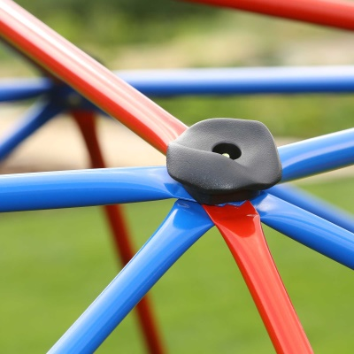 Kids Metal Dome Climber (Red and Blue), image 3