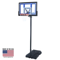 48 in. Courtside Portable Basketball Hoop