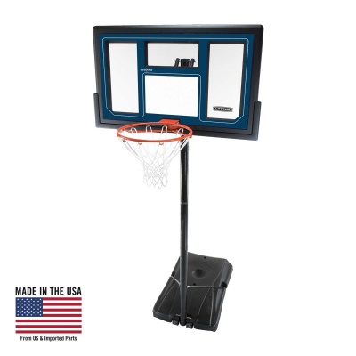 50 in. Courtside Portable Basketball Hoop, image 1