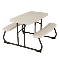 Kids Folding Picnic Table (Almond)