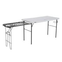 4 ft. Tailgate Table with Wire Pull Out