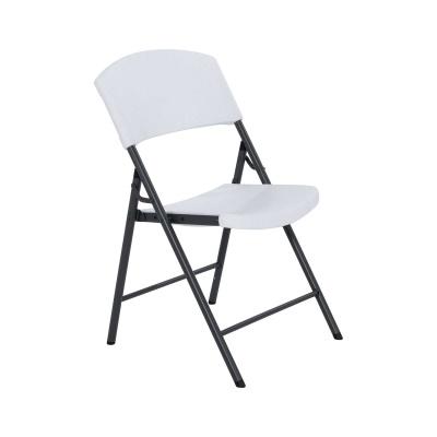 Light Commercial Folding Chair 32 Pack White Granite