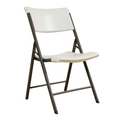 Commercial Contemporary Folding Chair 4 Pack (Almond), image 6