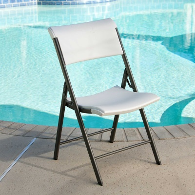 Commercial Contemporary Folding Chair 4 Pack (Almond), image 7