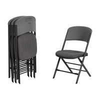 Padded Commercial Contoured Folding Chair 4 Pack (Urban Gray)