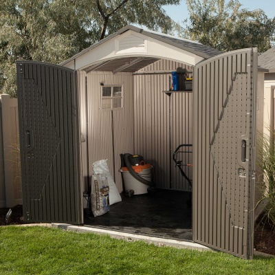 7 x 7 ft Outdoor Storage Shed with 2 Windows, image 17