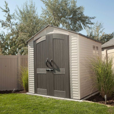 7 x 7 ft outdoor storage shed with 2 windows image 8 - Garden Sheds With Windows