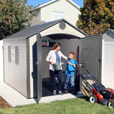 8 x 10 ft Outdoor Storage Shed, image 4