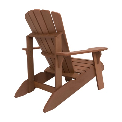 faux wood adirondack chair
