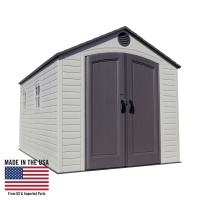 8 x 15 ft Outdoor Storage Shed (2 windows)