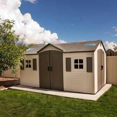 15 x 8 ft Outdoor Storage Shed (Dual Entry), image 10