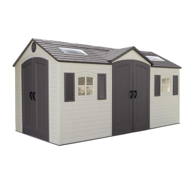 15 x 8 ft Outdoor Storage Shed (Dual Entry), image 2