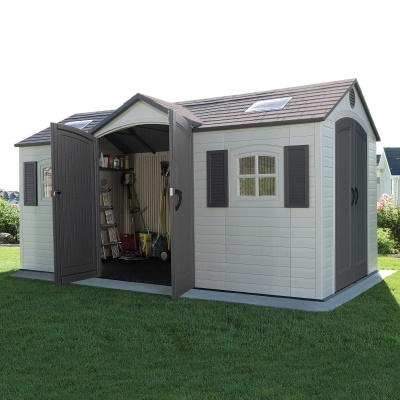 15 x 8 ft Outdoor Storage Shed (Dual Entry), image 6