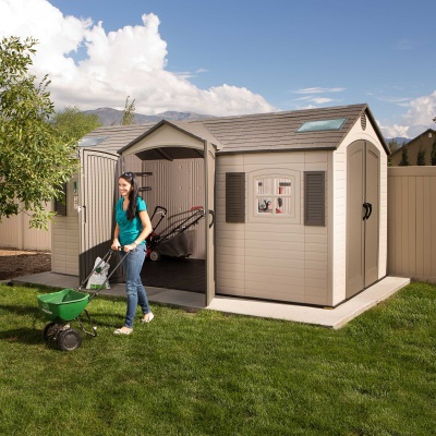 15 x 8 ft Outdoor Storage Shed (Dual Entry), image 8