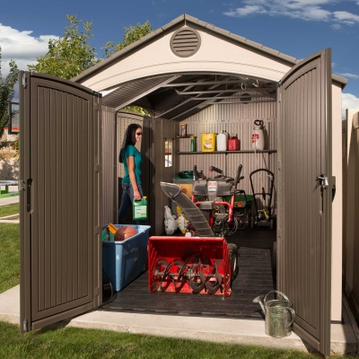15 x 8 ft Outdoor Storage Shed (Dual Entry), image 9