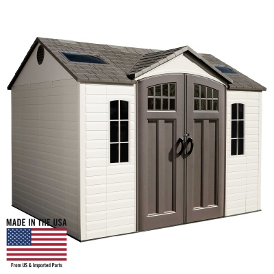 Garden Sheds 10 X 8 10 x 8 ft outdoor storage shed