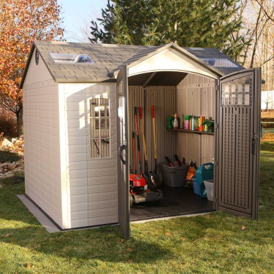10 x 8 ft outdoor storage shed image 6