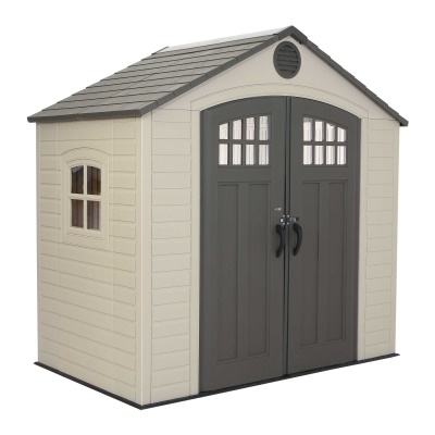 Lifetime 8 x 5 ft Outdoor Storage Shed with Window, image 2