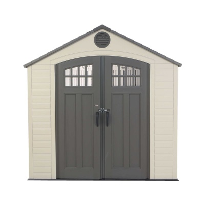 lifetime 8 x 5 ft outdoor storage shed with window - Garden Sheds 8 X 5