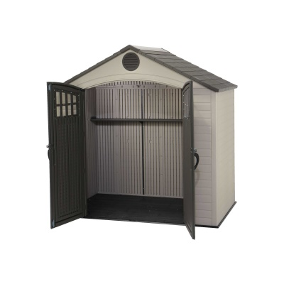Lifetime 8 x 5 ft Outdoor Storage Shed with Window, image 4