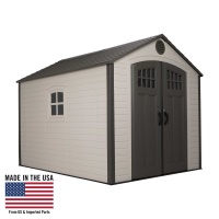 Lifetime 60117  8 x 10 ft Outdoor Storage Shed
