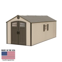8 ft. x 20 ft. Storage Shed (2 windows)
