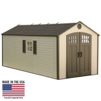 8 x 17.5 ft Outdoor Storage Shed (2 windows)