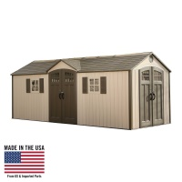 20 X 8 Outdoor Storage Shed (2 Windows)