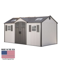 60138 Garden Storage Shed 15 X 8 ft