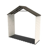 8 ft x 2.5 ft Outdoor Storage Shed Expansion Kit with Skylight