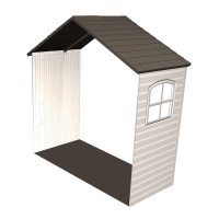 8' x 2.5' Expansion Kit for Outdoor Storage Shed