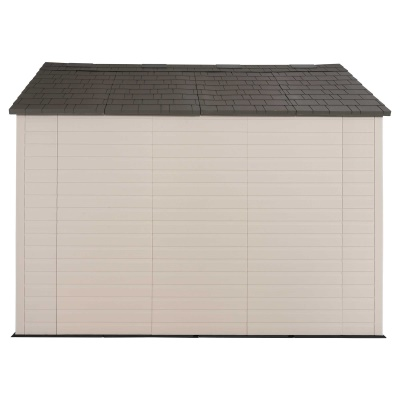 Lifetime 8ft x 10 ft Outdoor Storage Shed (Windows in Doors), image 4