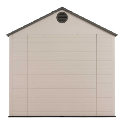 Lifetime 8ft x 10 ft Outdoor Storage Shed (Windows in Doors), image 6